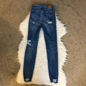 American Eagle Outfitters Jeans - American Eagle highest rise jegging destroyed